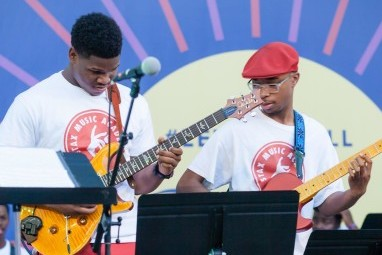Stax Music Academy Rhythm Section