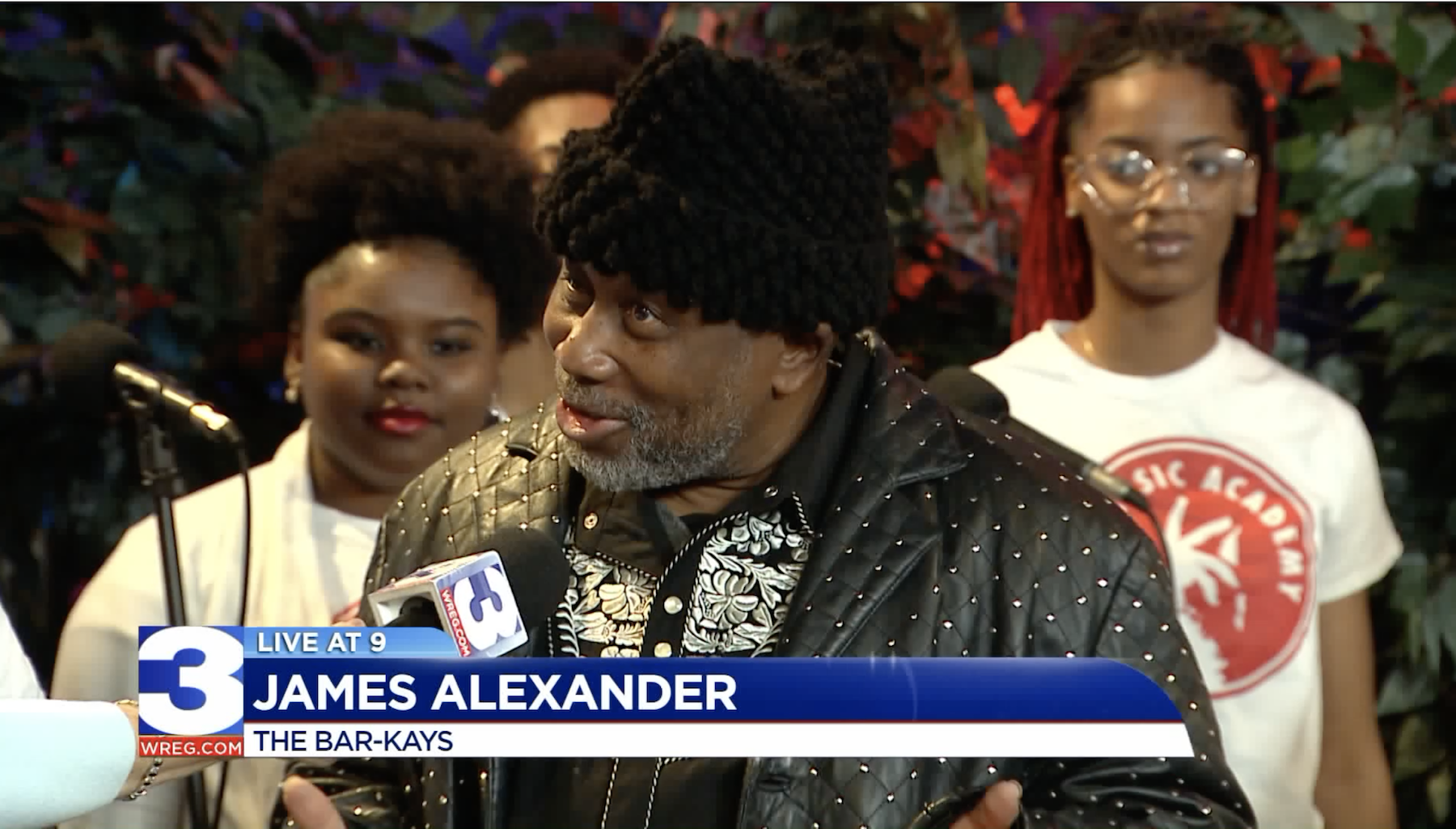 james live at nine with kids - Stax Music Academy